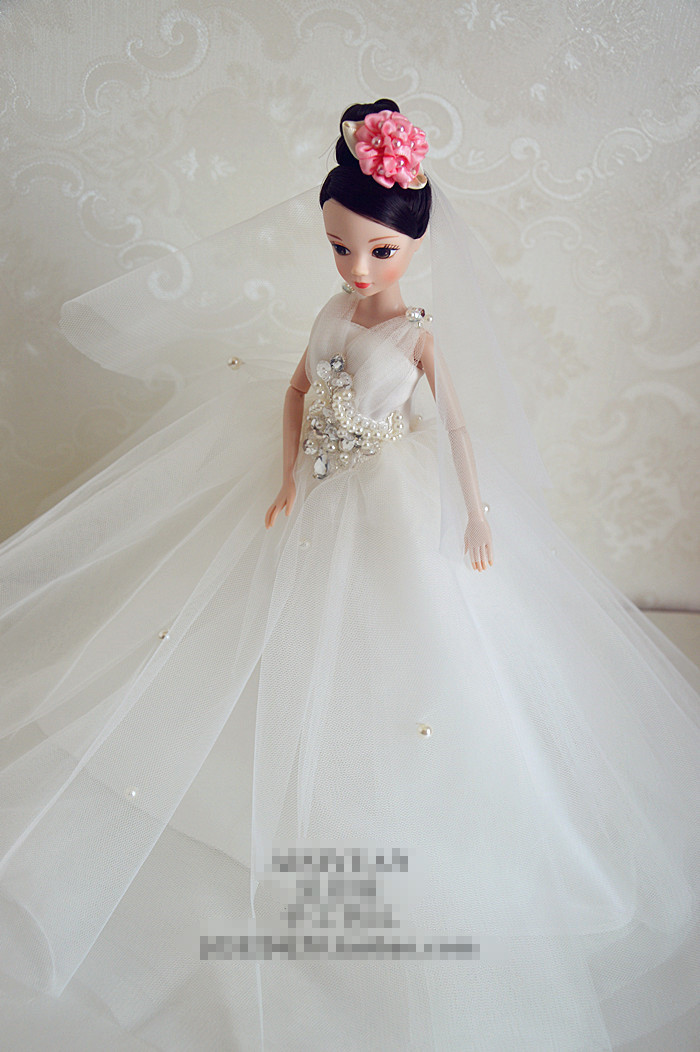 Autonomous design handmade Presents For Ladies Doll Equipment Night Go well with Wedding ceremony Gown Garments For Barbie Doll BBI00507