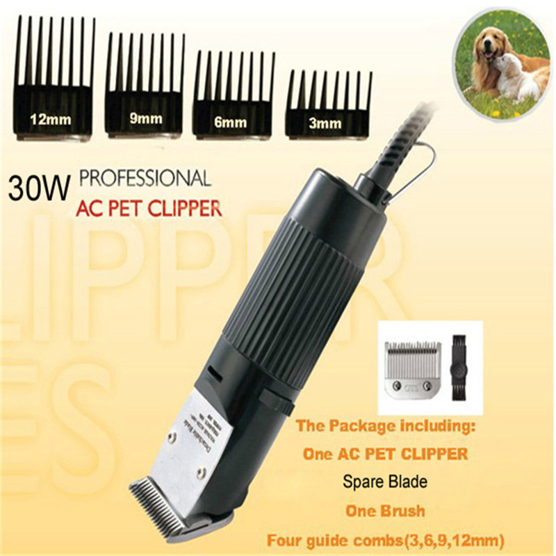 Professional Pet Dog Hair Trimmer 30W GTS888 Electric Scissors Cat Animals Grooming Clipper Shaver Haircut Machine 110V or 220V(China (Mainland))