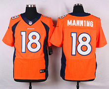 ABC100% Elite men Denver Broncos WOMEN KIDS YOUTH FREE SHIPPING 18 Peyton Manning(China (Mainland))