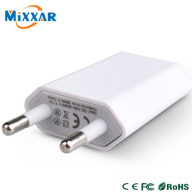 zk90 Universal Travel USB Charger Adapter Wall Portable EU US Plug Mobile Phone Smart Charger for Phone Tablet(China (Mainland))