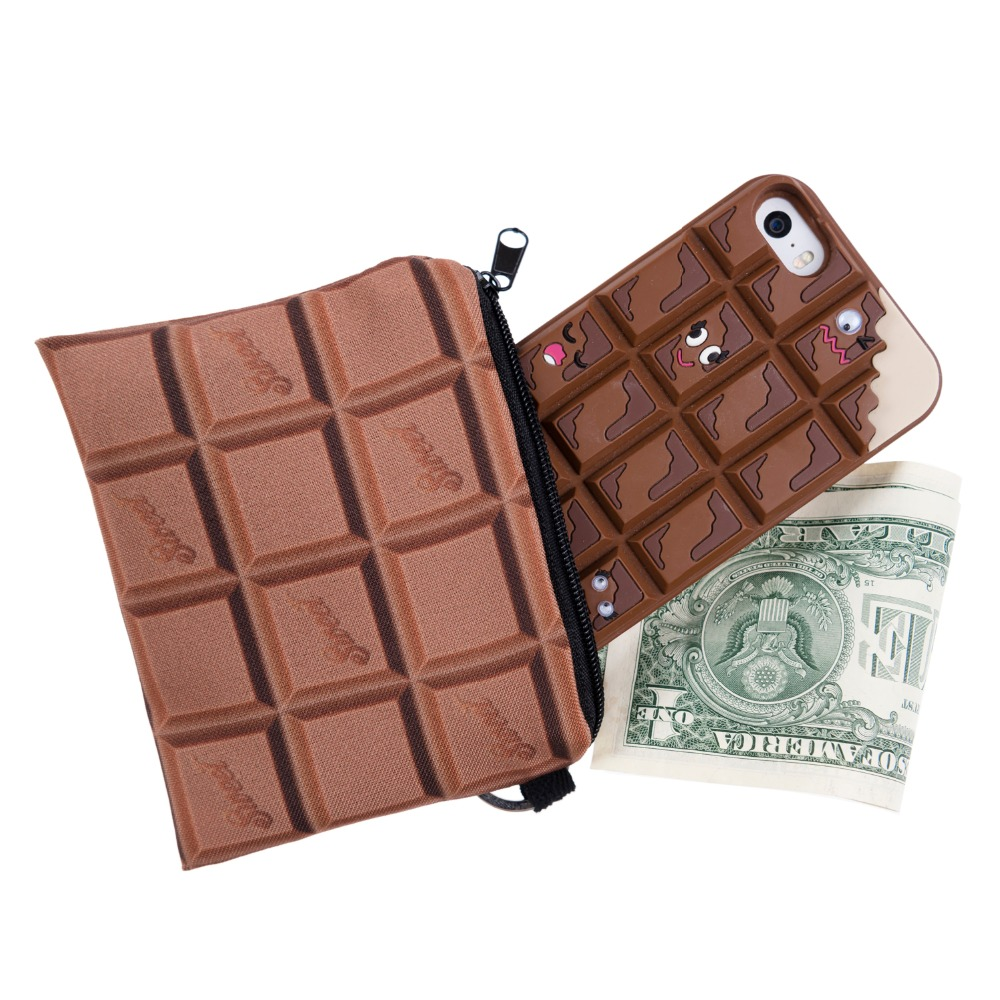Mix City 2016 New 3D print chocolate watermelon women Wallets Small Coin Purses Wallet Ladies Holder Pouch Zipper Bags<br><br>Aliexpress