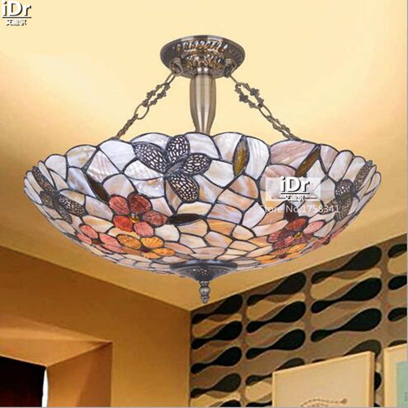 Natural shell lamp living room lamp bedroom lamp restaurant lights 21 inch rich flowers Butterfly Light Pendant Lights wwy-0366(China (Mainland))