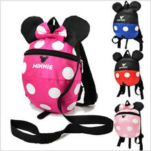 Buy 2017 fashion animal style school bag cute Minnie Mickey drawstring backpack children schoolbags girls kindergarten bag for $10.30 in AliExpress store