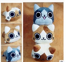 New Arrival Cute Japanese Anime Cat Plush Dolls Toys 43cm.best gift for christmas ,new year.Free shipping