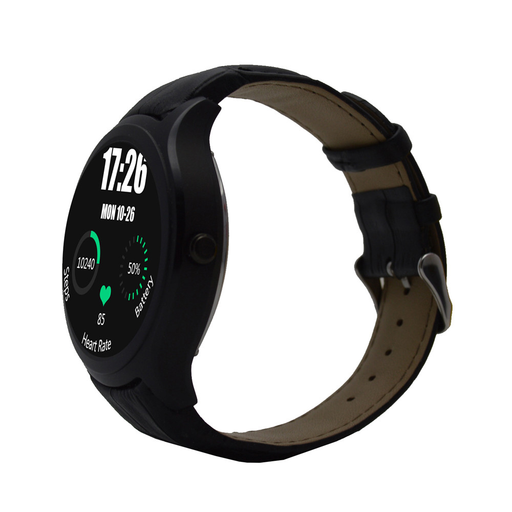 NO.1 D5 Smart Watch Heart Rate Monitor Fitness Tracker MTK6572 Android 4.4 IPS Bluetooth WiFi for iOS & android Smartphone