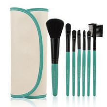 2014 HOT Professional 7 pcs Makeup Brush Set tools Make up Toiletry Kit Wool Brand Make