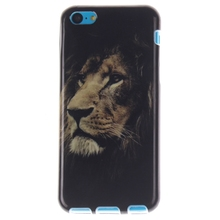 For Iphone 5C Cases Fashion Large Lion Styles Soft TPU Phone Case Cover For Iphone 5C Mobile Phone Shell