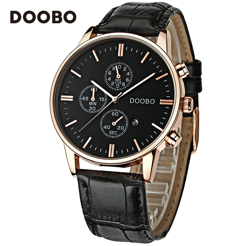 best watch brands men promotion shop for promotional best watch fashion casual top brand luxury watch men doobo quartz watch leather strap sport business wrist watches relogio feminino saat