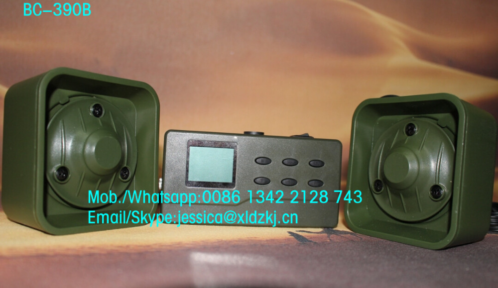 high quality hunting bird caller device hunting bird mp3 player 390 with 4 ohm speaker(China (Mainland))