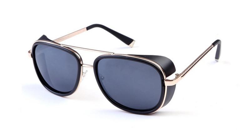 Men's sunglasses for women's Metal alloys Iron Man 3 hero TONY matsuda Windproof sun glasses wind Brand 2015 fashion new(China (Mainland))