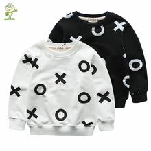 Varejo Outono-Primavera crianças camisola hoodies Meninas Menino roupas de algodão terno dos esportes Carta capuz assecla crianças roupas