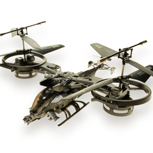Ultralarge shaft remote control helicopter toy