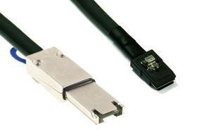 SFF 8088 Mini SAS 4X to 8087 Mini SAS 4i Cable External to INTERNAL 1M 10Gbps(China (Mainland))