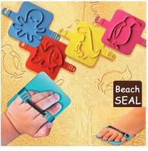 Пляж печать 4 видов цвета Животных шаблон Детские игрушки подарок