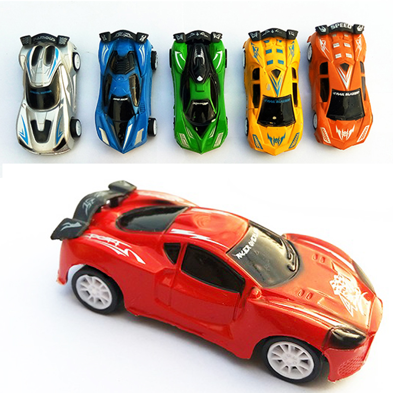 Cool racing car toy car children back to the car auto robot model children toys Cartoon car Q version of the Plastic(China (Mainland))
