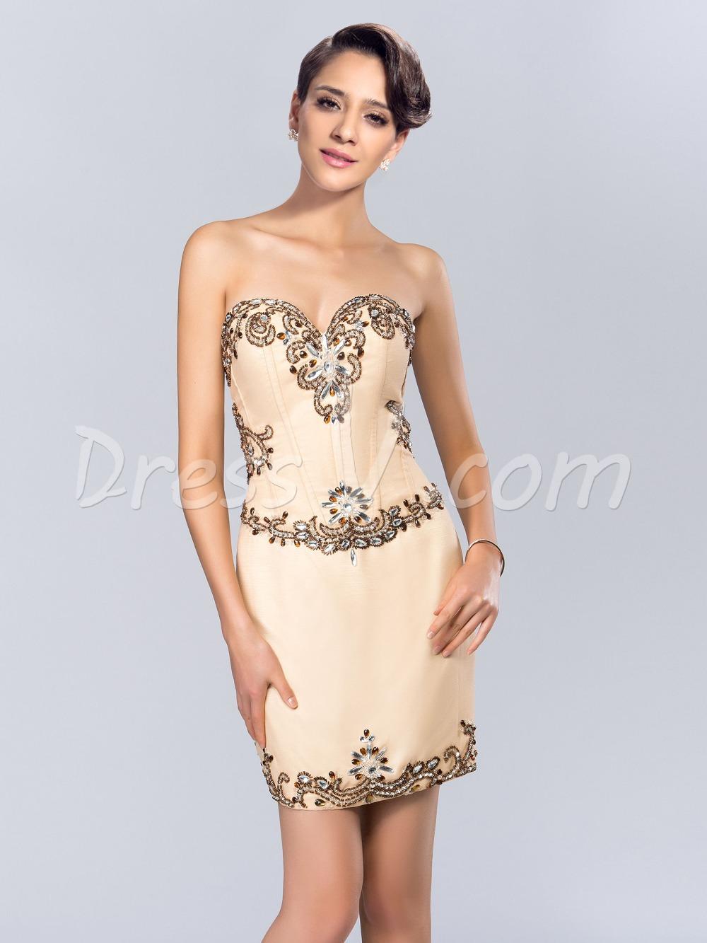 Short Cocktail Dresses for Weddings