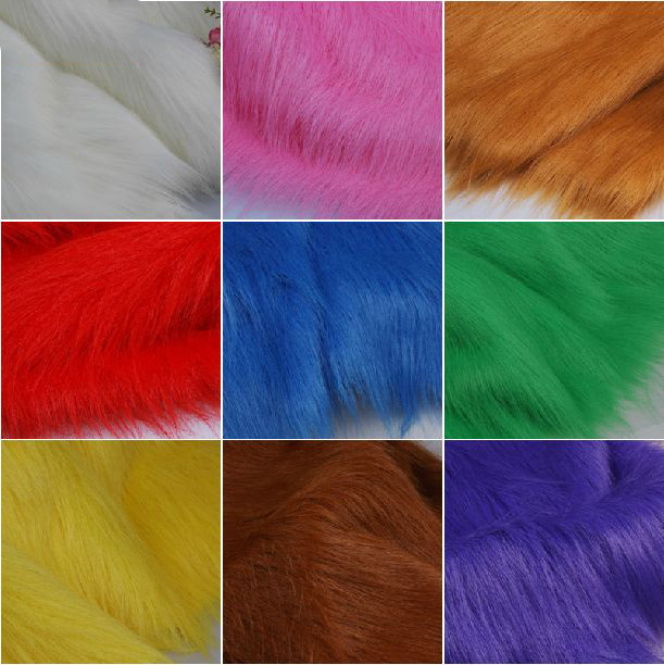 Multicolor,Faux fur fabric ,Imitation for animal fur fabric,velours fabric for sewing,width 1.8M,sale for meter,one meter=1*1.8M(China (Mainland))