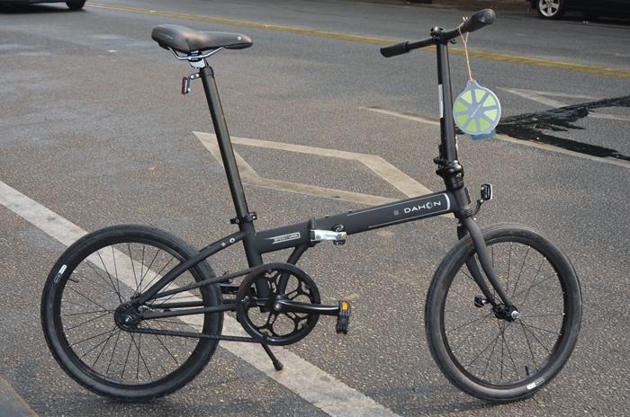 Free Shipping 2014 New Stanchart kac012c 20 folding bike one piece tube single ultra-light(China (Mainland))