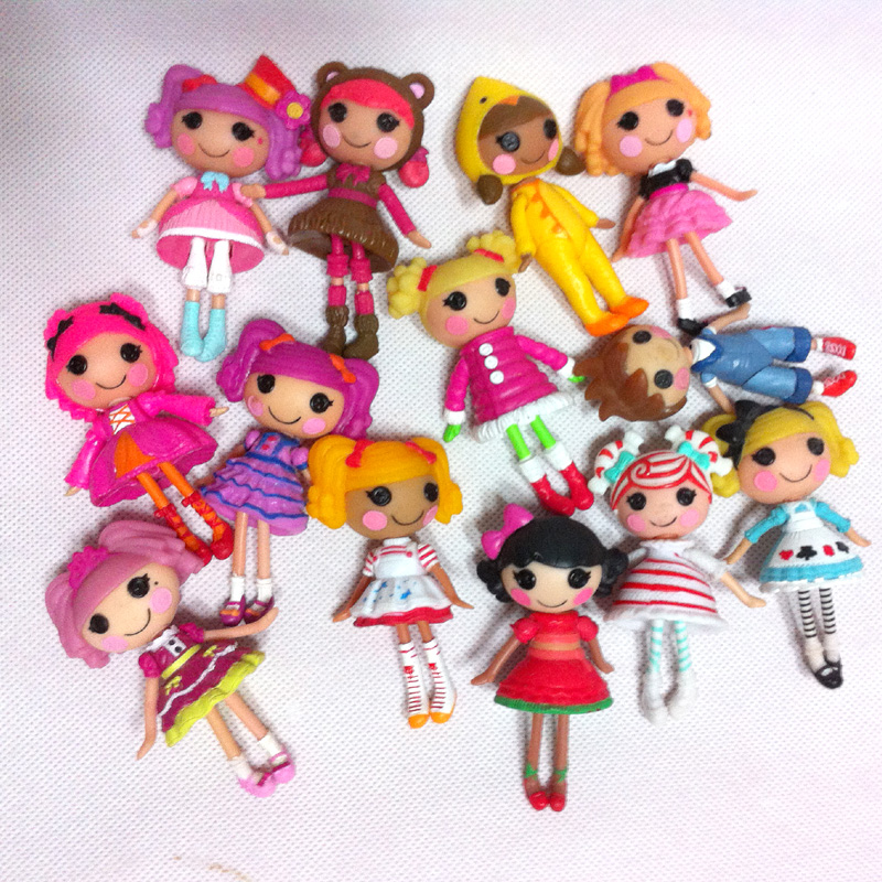 Special Toys For Girls : Pcs lot inch mga lalaloopsy dolls accessories mini