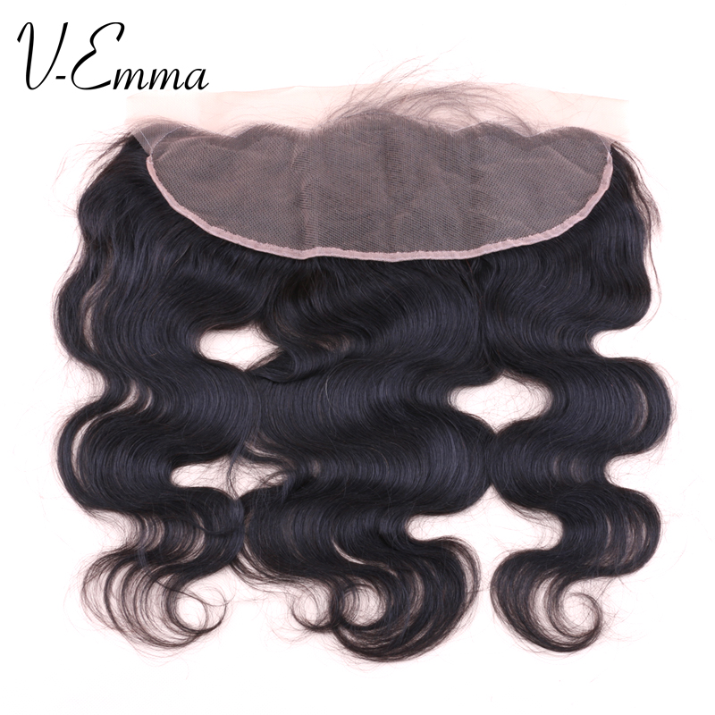 8A Brazilian Lace Frontal Closure 13×4 virgin human hair ear to ear closure frontals with baby hair body wave frontal
