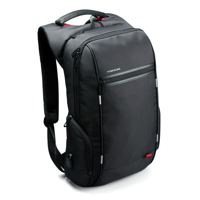 buy kingsons antitheft notebook backpack 15 6 17 3 inch waterproof laptop. Black Bedroom Furniture Sets. Home Design Ideas