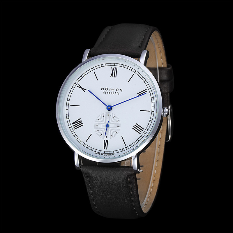 Top Luxury Brand NOMOS 2016 Quartz Watch Men Fashion Casual Wrist Watches Reloj Hombre Relogio Relojes