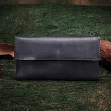 2016 Vintage Genuine Leather Women Long Wallet Card Photo Holder Clutch Bag Lady Purse