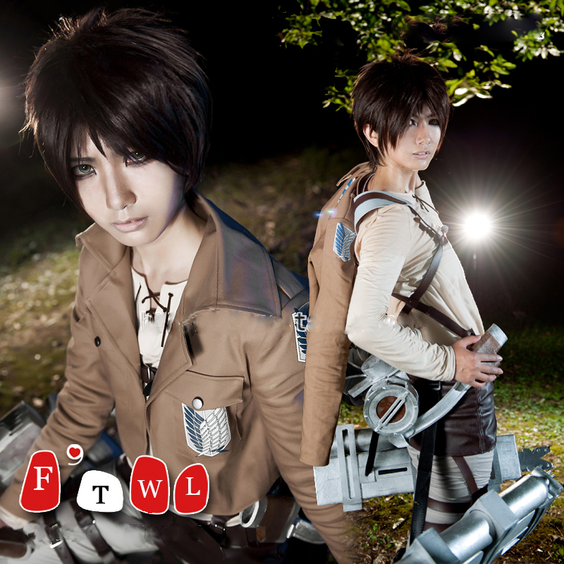 anime costume attack on titan cosplay halloween costumes full set unisex free shippingОдежда и ак�е��уары<br><br><br>Aliexpress