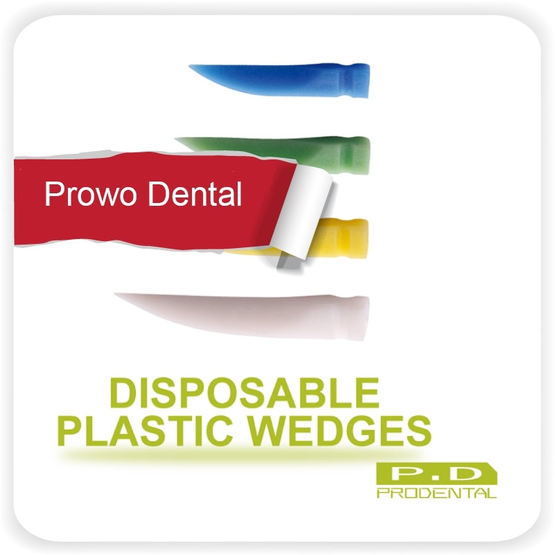 dental plastic wedge dental material disposable wedge gap wedge tooth gap wedge auxiliary equipment(China (Mainland))