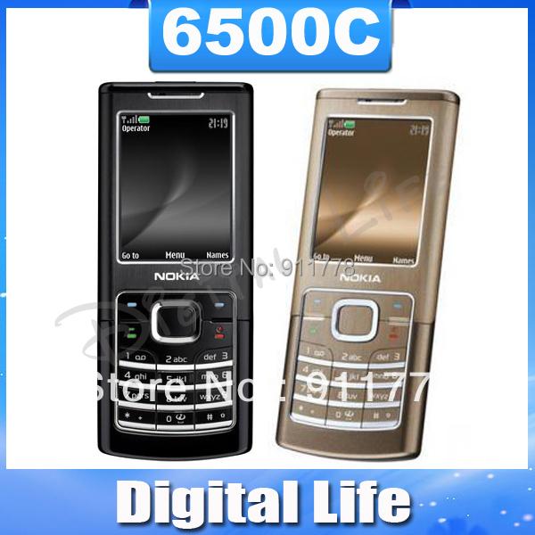 6500C Unlocked Original Nokia 6500 Classic 3G mobile phone wholesale Free Shipping(China (Mainland))