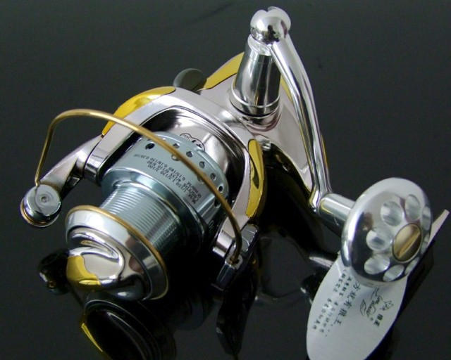 "New arrival,High quality Line Winder A2000 ""10+1BB/5.0:1"",Metal Spinning fishing reels,fishing tackle,free shipping"