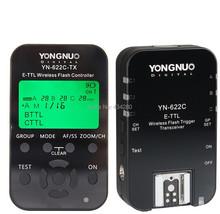 Buy Yongnuo YN622+YN622C-tx set HSS TTL flash Transceivers/trigger Canon 7D 60D 50D 40D 5DMark II/III 1Ds MarkIII 1D Mark IV/III for $94.98 in AliExpress store