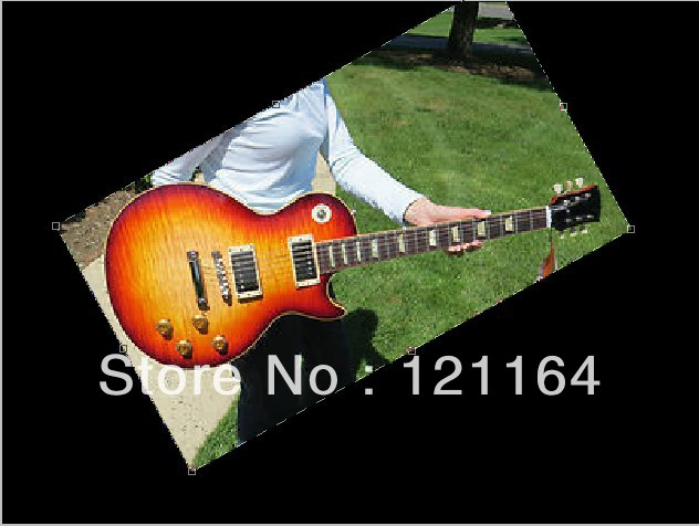 best Factory Mahogany guitar Custom Shop 1959 Reissue NEW BEGINNING BURST FLAME 2011 electric guitar(China (Mainland))