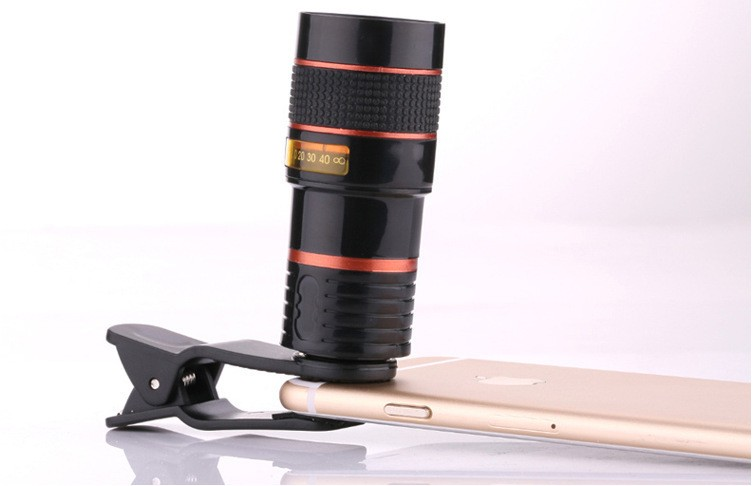 2016 New Rushed Phone lenses Lens Lentes Mobile Phone Camera General 8 Times Long Telescopic Lens High-definition Cameras Hot