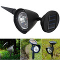 Outdoor Led Solar Light Solar Power Spotlight Garden Lawn Lamp Landscape Spot Lights YF012