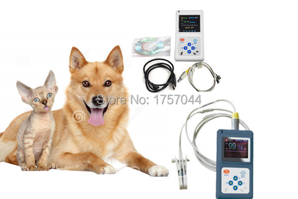 1.8 Inch LED Display portable Hand-held Vet Pulse Oximeter CE/FDA certified (For Animal ) Spo2 monitor(China (Mainland))