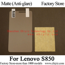 Matte Anti glare Frosted LCD Screen Protector Guard Cover Protective Film Shield For Lenovo S850 Dual SIM