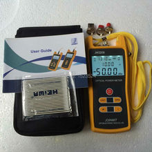 Telecomunication High Precision -70~+3dBm Handheld Fiber Optical Power Meter