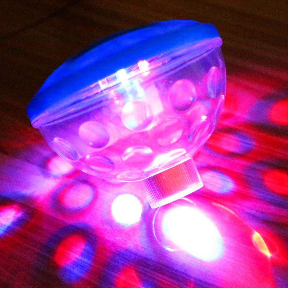 Waterproof 7 Lighting Mode LED Underwater Light Show LED Disco AquaGlow Swimming Pool Pond Spa Light Lamp(China (Mainland))