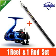 SeaKnight FISHING ROD AND REEL SET Lure Fishing Reels spinning reel lur Fish Tackle Rods Cheapest High Carbon Ocean Rock 360cm