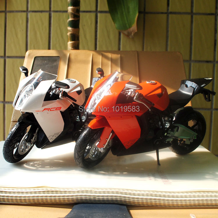 2pcs/set Cool 1/12 Motorbike Model Toys KTM 1190 RC8 Diecast Motorcycle Metal Model Toy For Gift/Children/Collection/Kids(China (Mainland))