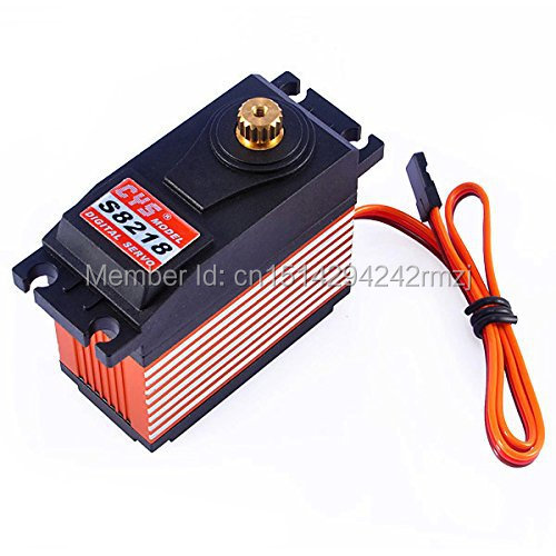 Wholesale 2 x CYS-S8218 Digital Metal Gear High Torque Servo Motor Free Shipping &amp; DropShipping<br><br>Aliexpress