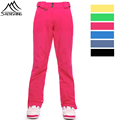 New Brand Winter Snow Pants For Women Outdoor Skiing Trousers Waterproof Windproof Snowboard Pants Female Thicken