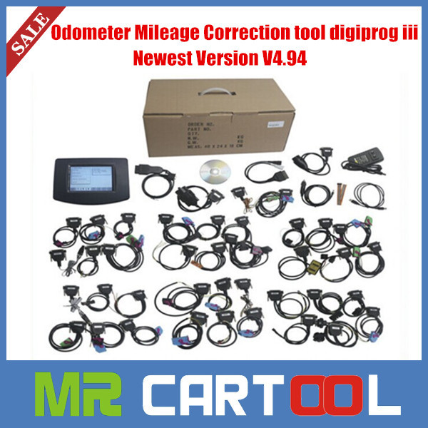 2015 Top rated Multi language Digiprog III Digiprog 3 Odometer Programmer v4.94 digiprog3 Full Set dp3(Hong Kong)