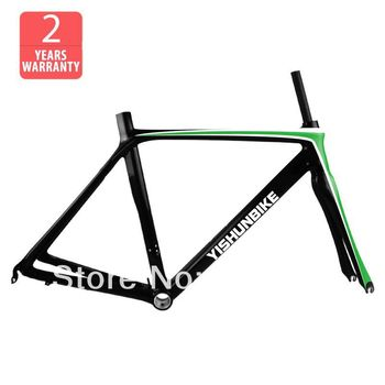 wholesale! 2012 Carbon Road bike/Bicycle frames+fork+seatpost+headset+clamp, complete DI2, FM032 burly short sissy bar