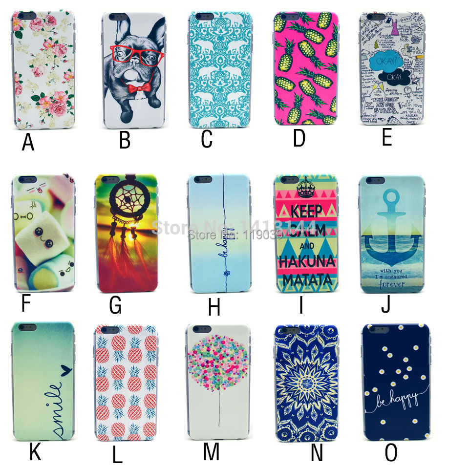 For Samsung Galaxy Core i8260 i8262 Case New Colorful Flower Painting Black Frame Hard PC Cell Phone Cases Cover Core(China (Mainland))