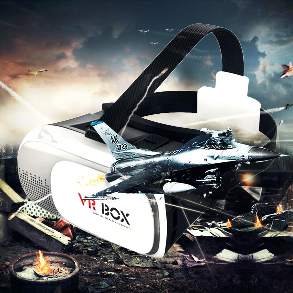 2016 New High Quality 3D Bluetooth VR BOX Virtual Reality Remote Control Glasses