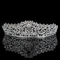 Topwedding Rhinestones Bridal Headpiece Wedding Tiara Crown women
