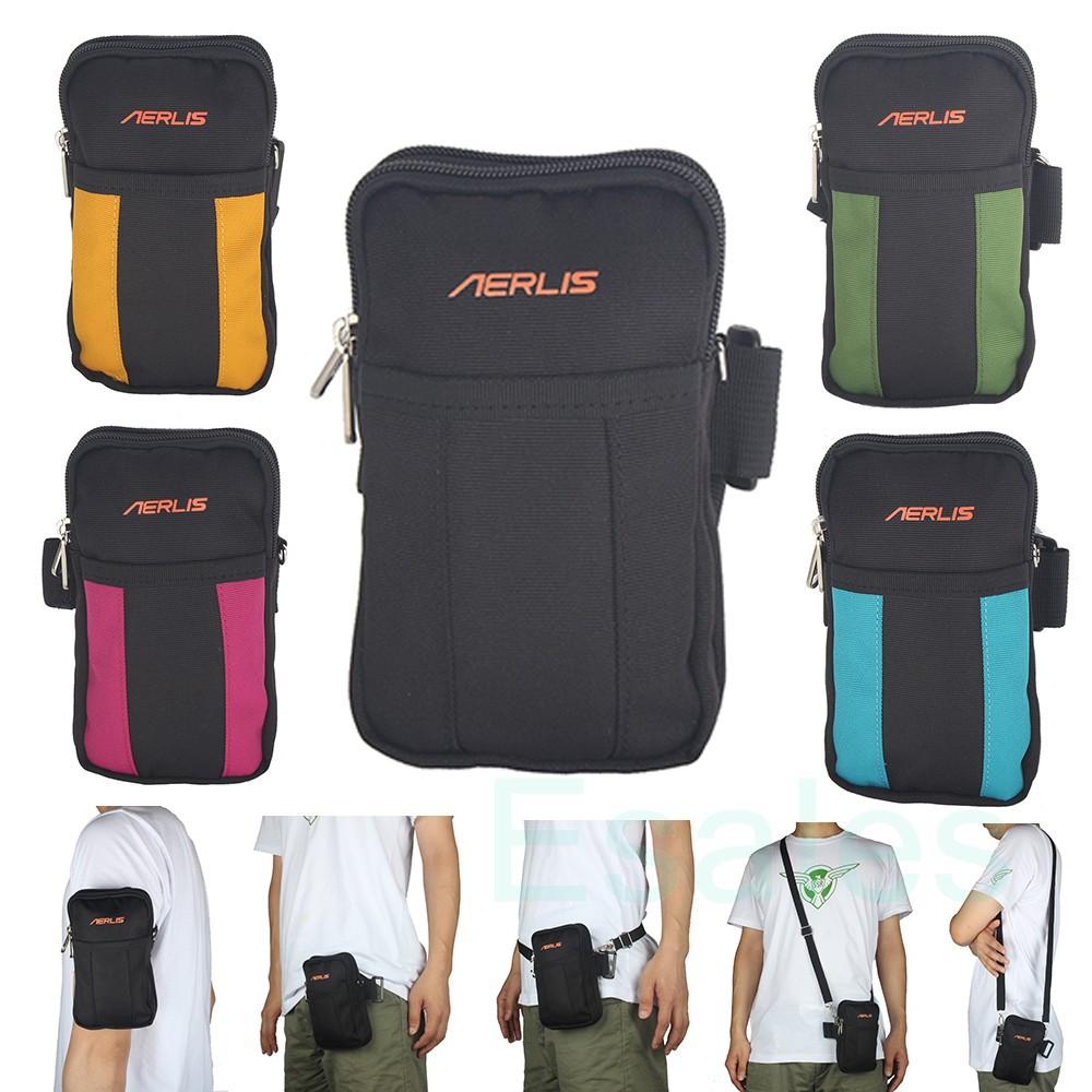 Nylon Molle Bag Fanny Pack Arm Bag Pouch Messenger For Men & Women Outdoor Running Bag Money Pack(China (Mainland))