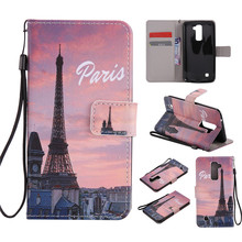 Buy Eiffel Tower Painted Pattern Flip Leather Case Wallet bag Cover LG K10 K7 xpower NEXUS 5X S775 Credit Card/Money Slot for $3.49 in AliExpress store